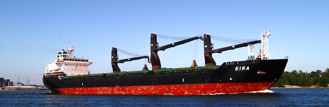 Eira, 20,000 dwt general cargo ship with cranes