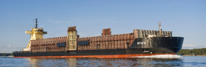 Pusher Steel and 14,000 dwt barge Botnia