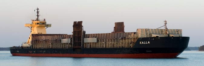 Barge Steel and 14,000 dwt barge Kalla