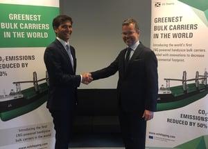 20181024_ESL_Nauticor_LNG supply agreement